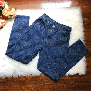 90s Floral Mom Jeans Traffic High Waisted